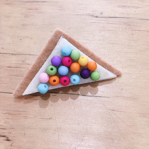 Felt Fairy Bread Pin