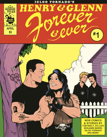 'Henry & Glenn Forever and Ever #1' Tom Neely
