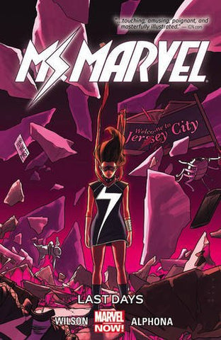 'Ms. Marvel Vol. 4: Last Days' G. Willow Wilson