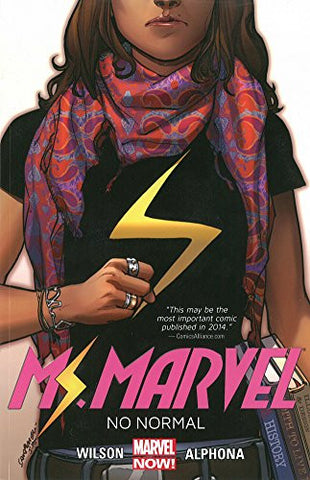 'Ms. Marvel Volume 1: No Normal' G. Willow Wilson