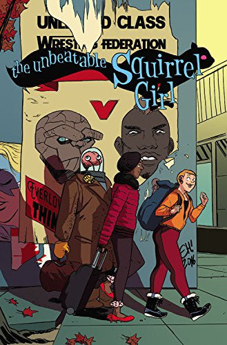 'The Unbeatable Squirrel Girl Vol. 5: Like I'm the Only Squirrel in the World' Ryan North