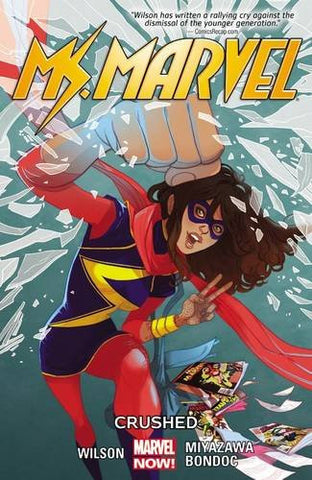 'Ms. Marvel Vol. 3: Crushed' G. Willow Wilson