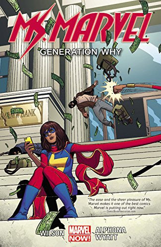 'Ms. Marvel Volume 2: Generation Why' G. Willow Wilson