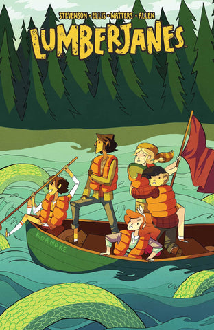 'Lumberjanes Vol. 3: A Terrible Plan' Noelle Stevenson