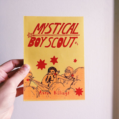 'Mystical Boy Scout #4' Aaron Billings