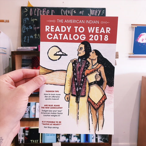 'The American Indian Ready to Wear Catalog 2018' Joey Clift and Janet Myer