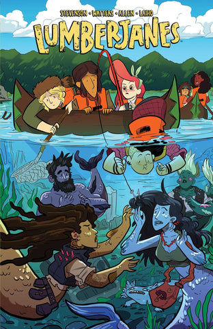 'Lumberjanes Vol. 5: Band Together ' Noelle Stevenson