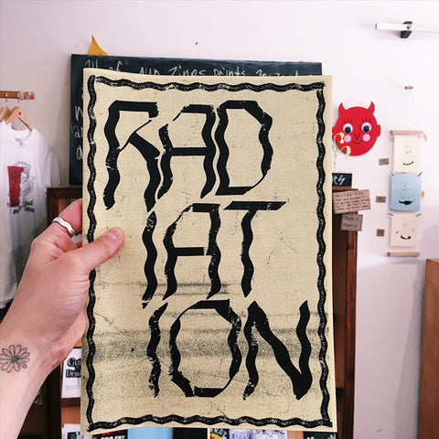 Radiation Zine