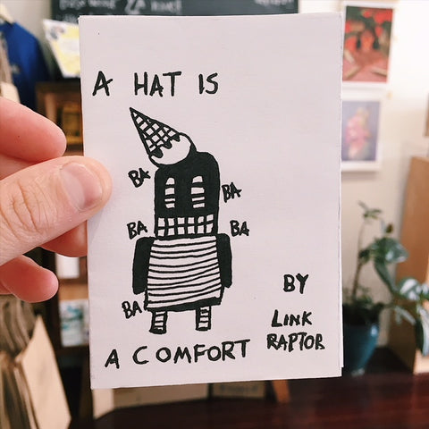'A Hat is a Comfort' Mini Zine