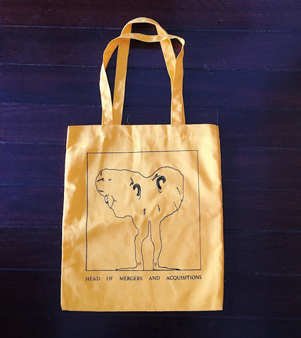 'Head of Mergers and Acquisitions' Yellow Tote