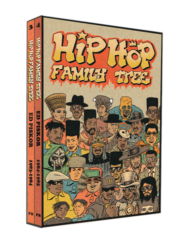 'Hip Hop Family Tree 1983-1985 Gift Box Set' Ed Piskor