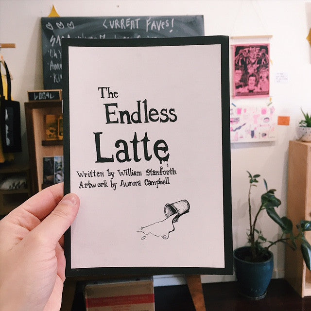 'The Endless Latte' Zine by Aurora Campbell