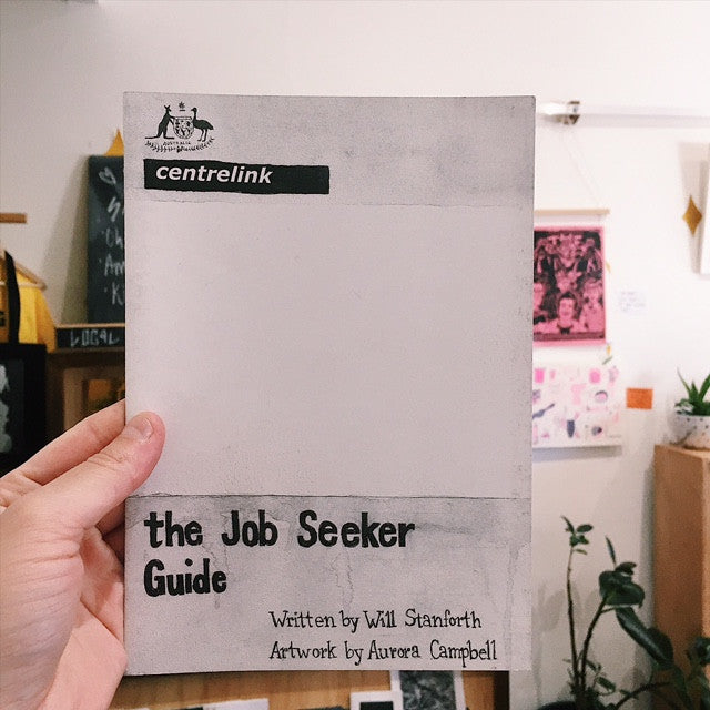 'The Job Seeker Guide' Zine by Aurora Campbell