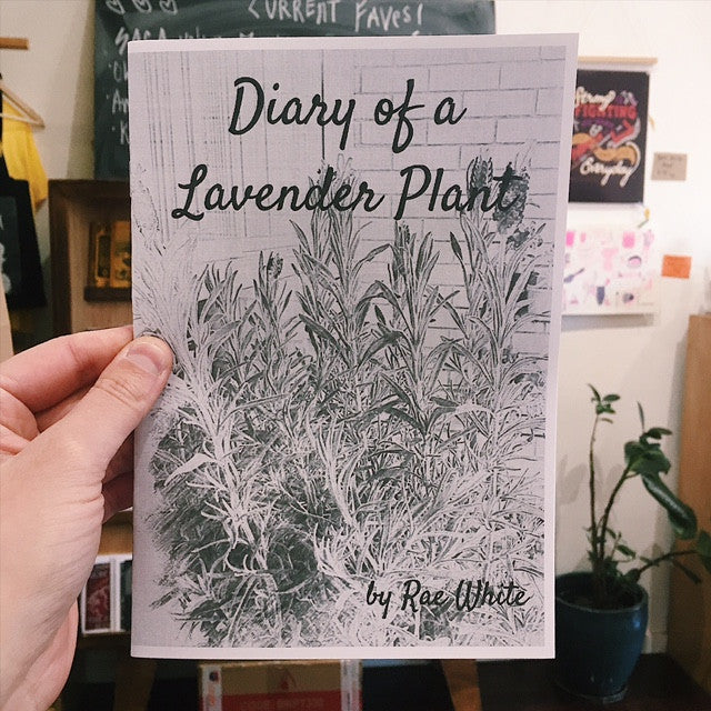 'Diary of a Lavender Plant' Zine by Rae White