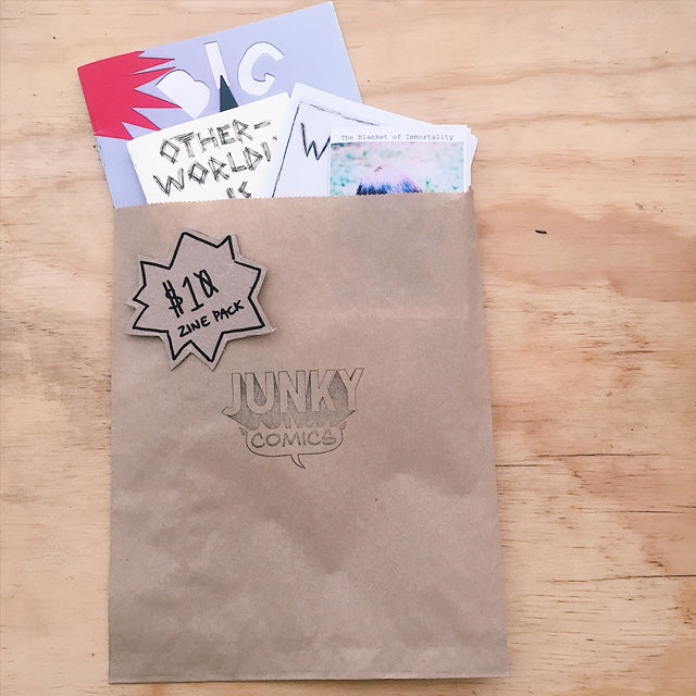 ~mystery~ zine packs!