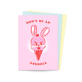 'Don't Be An Asshole' Postcard Pack