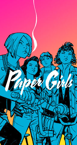 'Paper Girls Volume 1' Brian K. Vaughan
