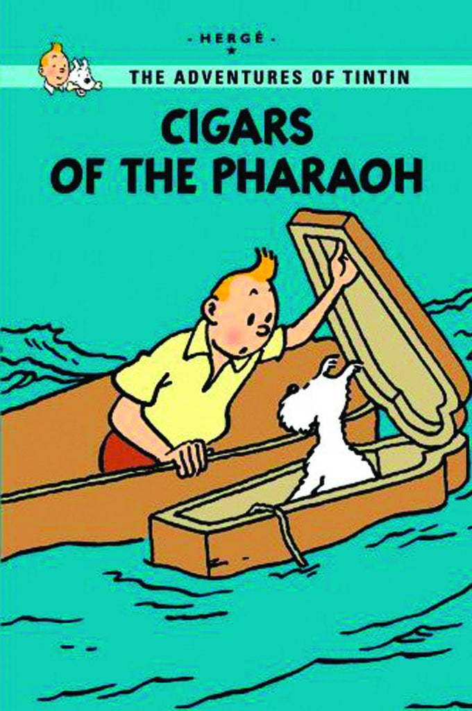 'The Adventures of Tintin: Cigars of the Pharaoh' Hergé