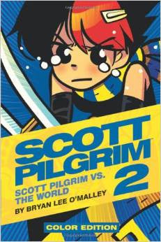 'Scott Pilgrim Volume 2: Vs. The World' Bryan Lee O'Malley