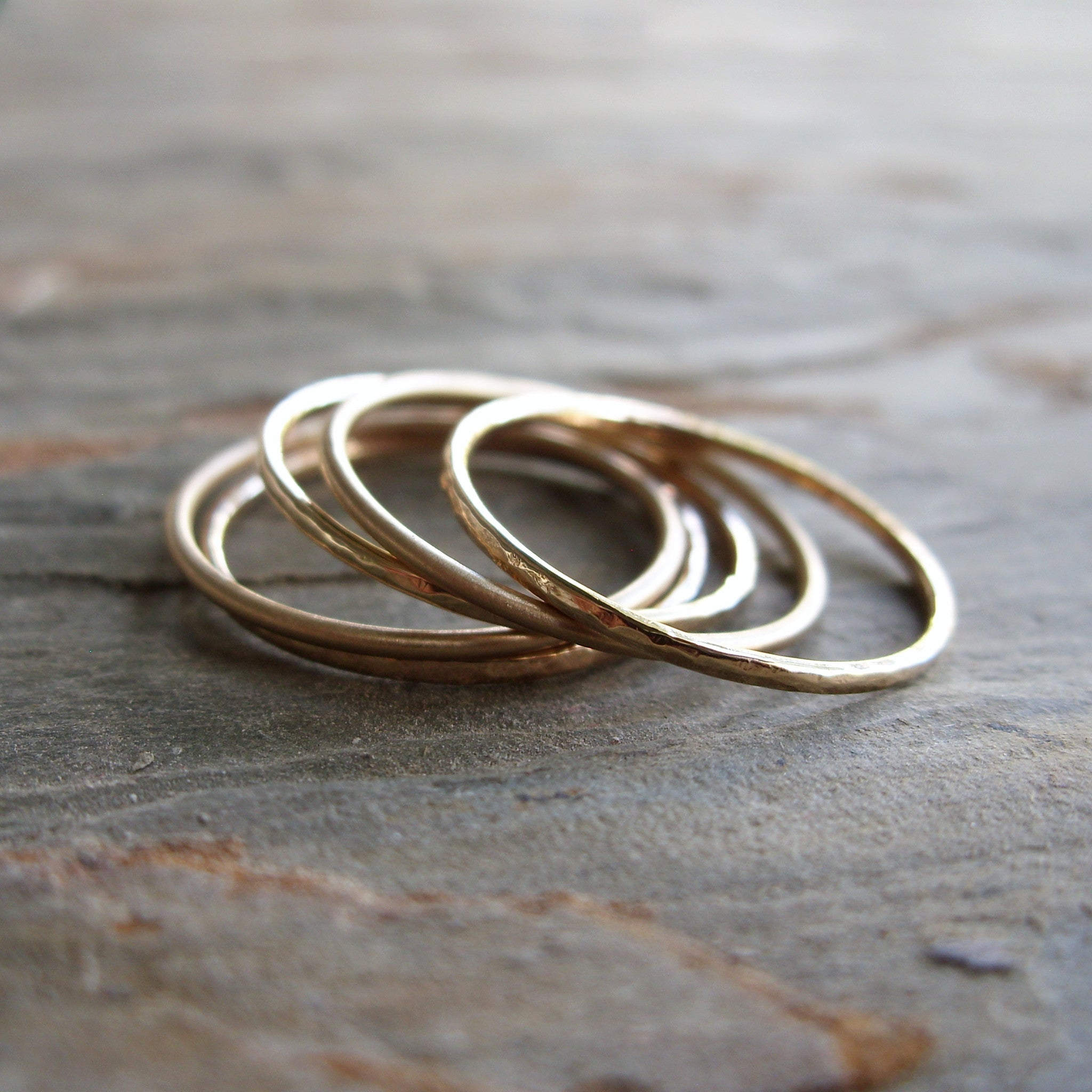 gold partington gitika golden rings