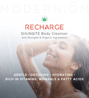 shungite body cleanser