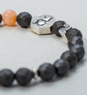 H-POWER Wrist Mala in PASSION