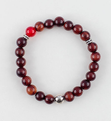 Reflection Wrist Mala in VITALITY