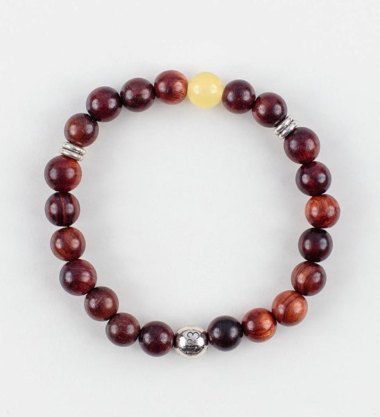 Reflection Wrist Mala in PURPOSE