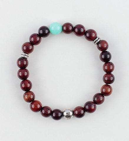 Reflection Wrist Mala in COMPASSION