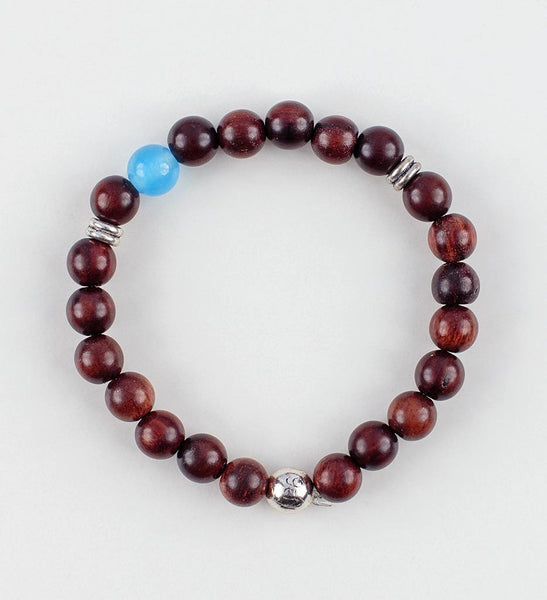 Reflection Wrist Mala in INSIGHT