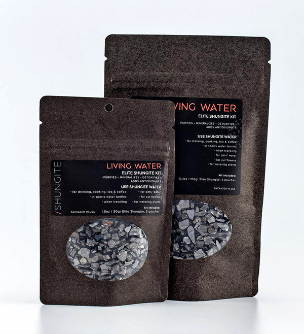 elite shungite living water kits