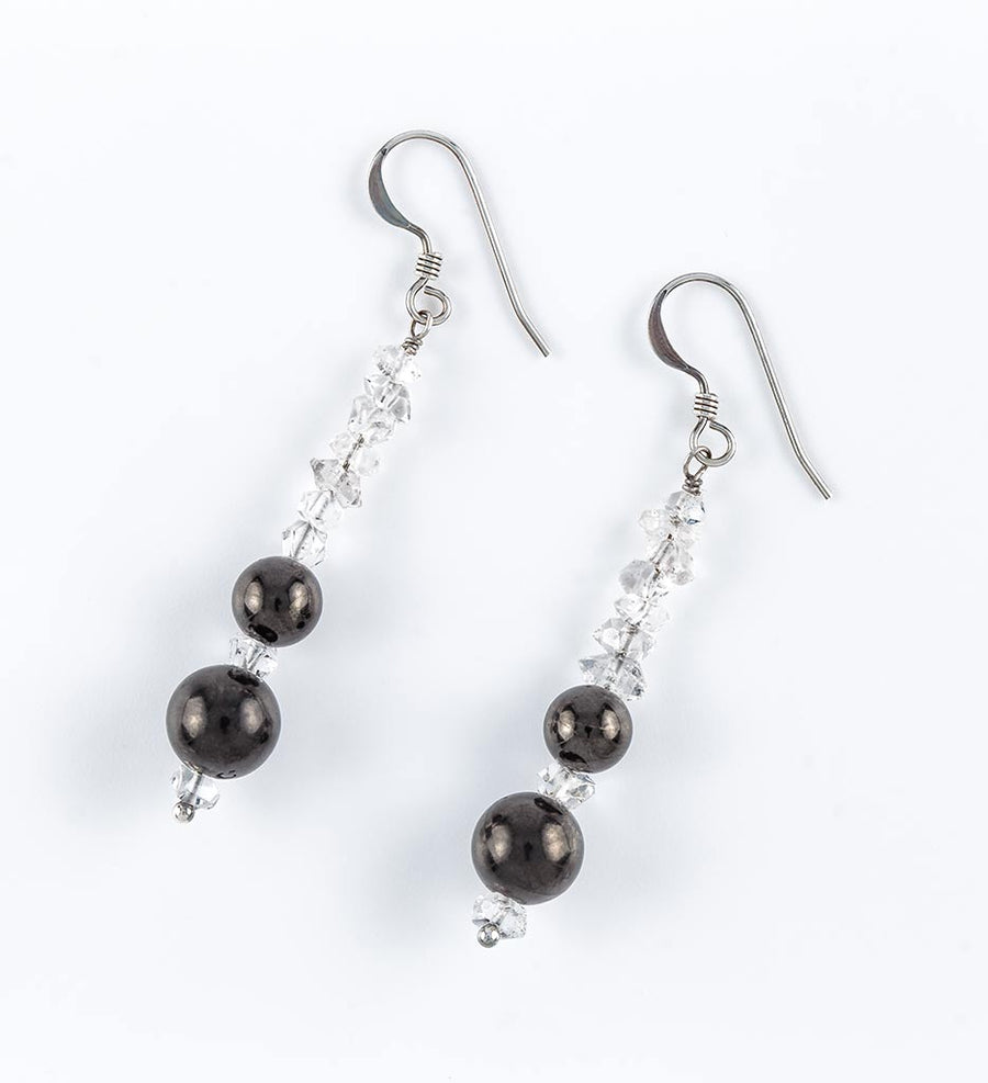 Shungite ICE Earrings