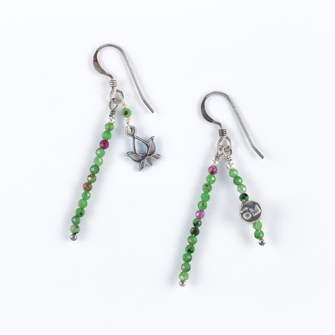 Earth & Fire Earrings
