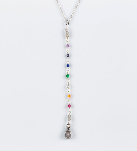 SPIRIT Chakra T-Drop Necklace