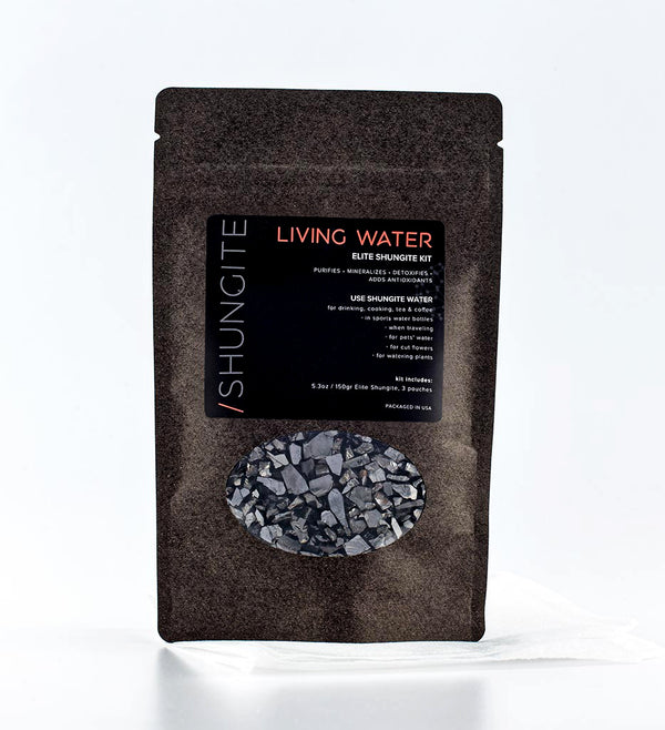 elite shungite living water kit