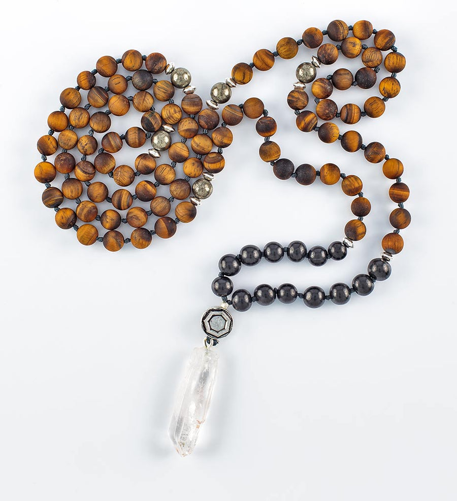 Shungite POWER 108 Mala