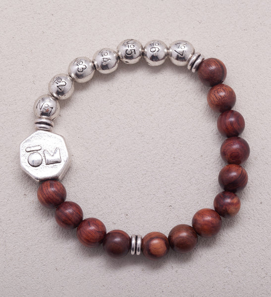Reflection Philosophy Wrist Mala