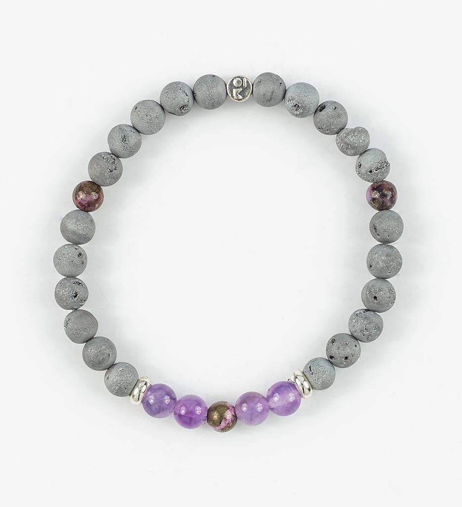 SILVER BALANCE Wrist Mala in CONNECTION