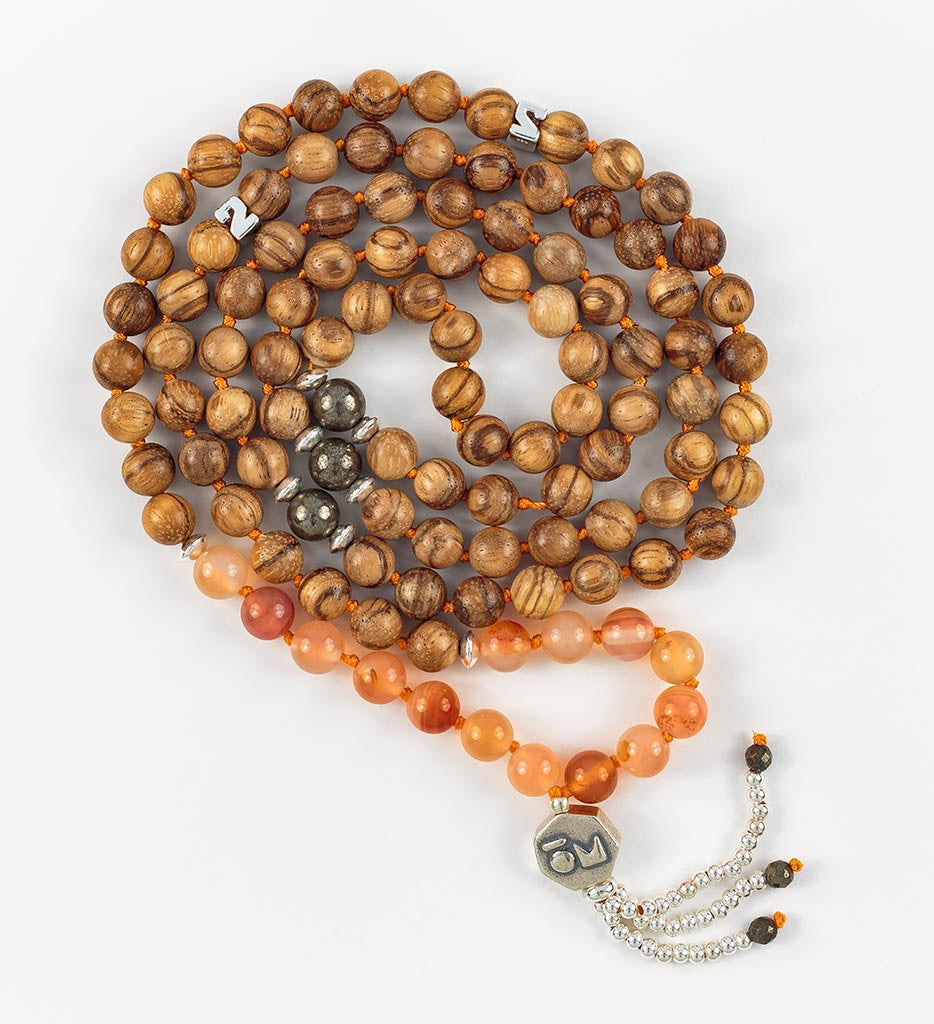Silver Infinity Mala in PASSION