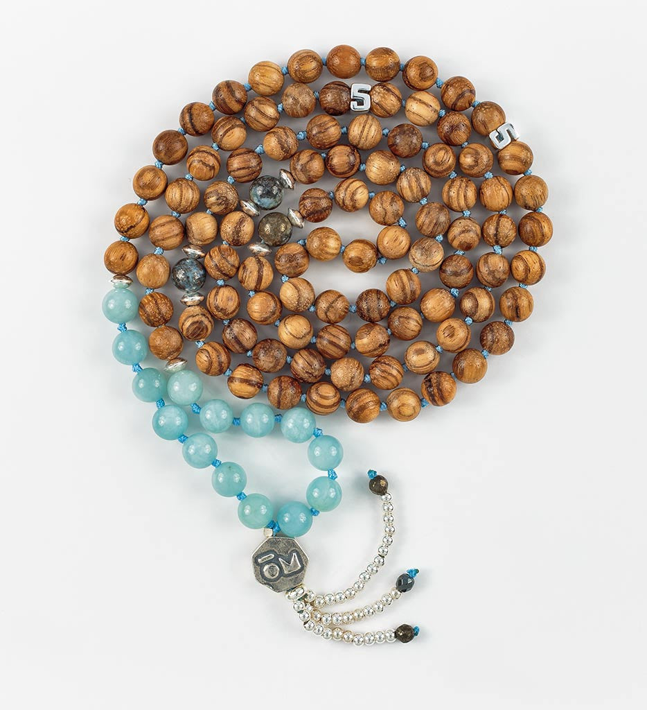 Silver Infinity Mala in EXPRESSION