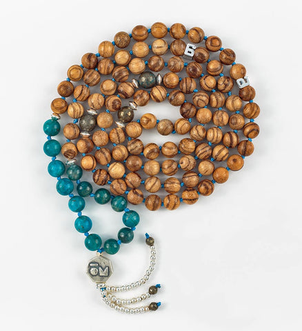 Silver Infinity Mala in INSIGHT