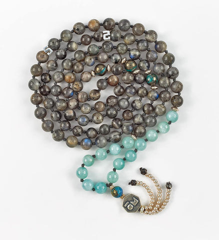 Silver Intuition Mala in EXPRESSION