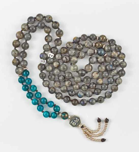 Silver Intuition Mala in INSIGHT