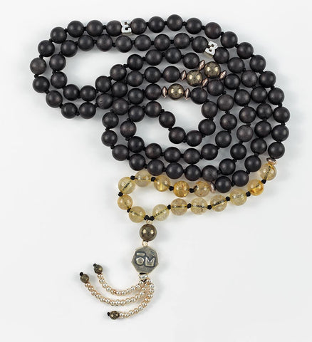 Silver Vision Mala in PURPOSE