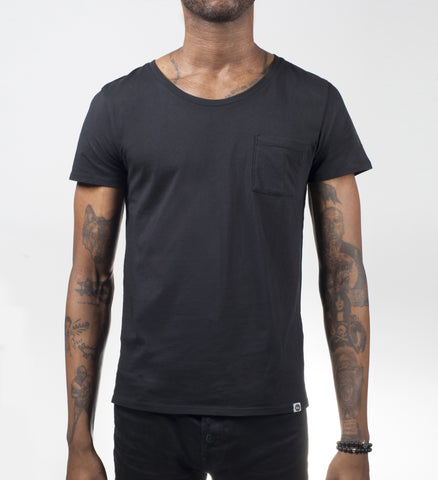 Black VITALITY Relaxed Tee