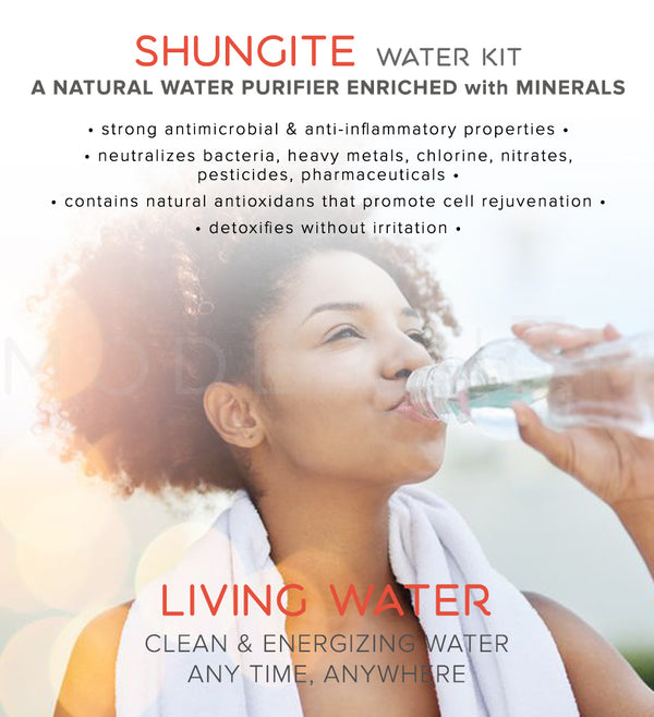 elite shungite living water kit benefits