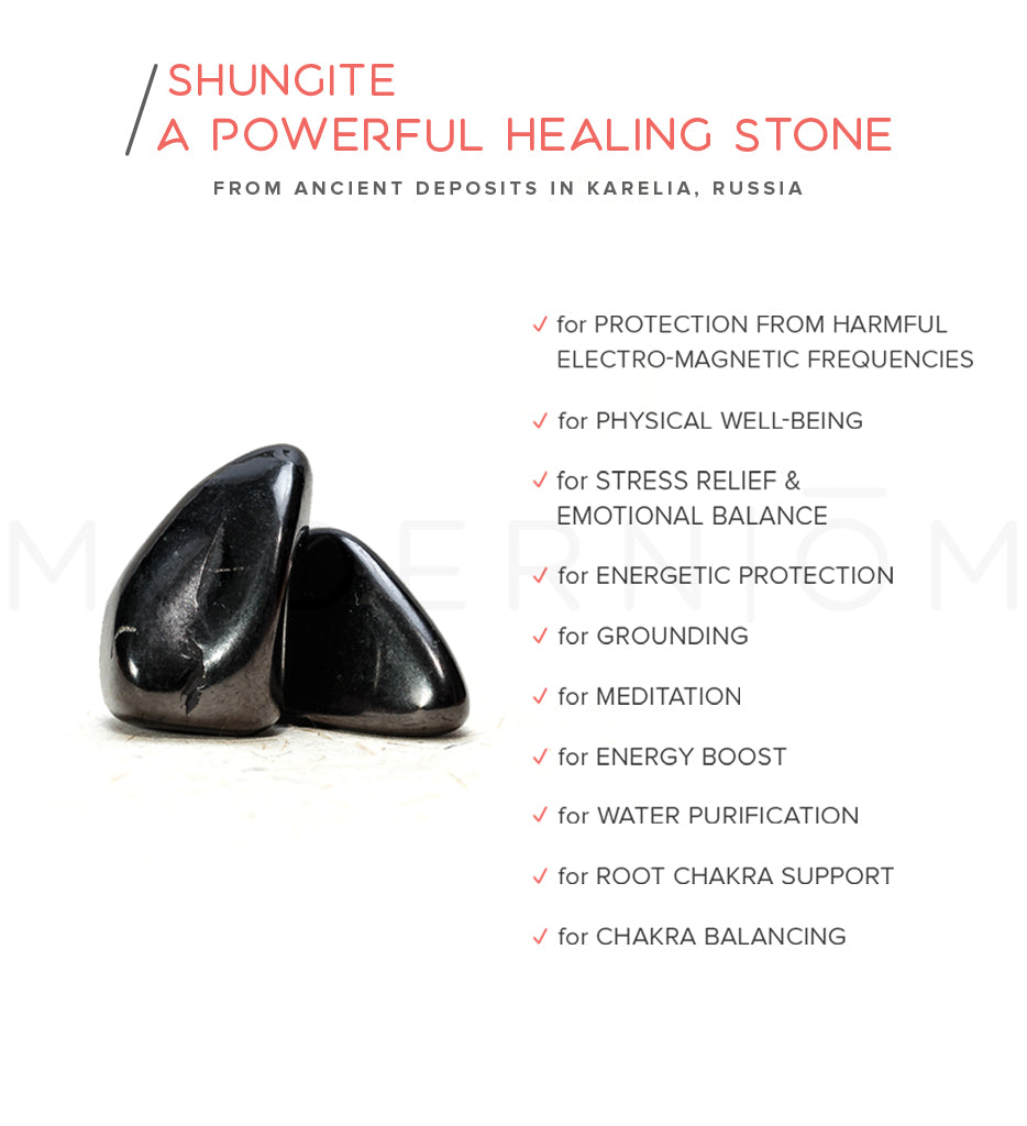 POWERFUL CLEANSING AND PURIFICATION SMUDGE SET PALO SANTO SHUNGITE WATER CRYSTAL