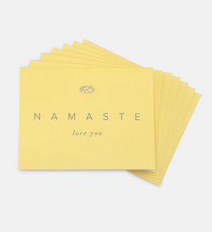 "NAMASTE ""Love You"" Card (Single w/envelope)"