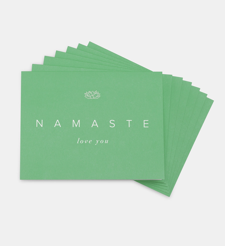 "NAMASTE ""Love You"" Cards (Set of 7)"