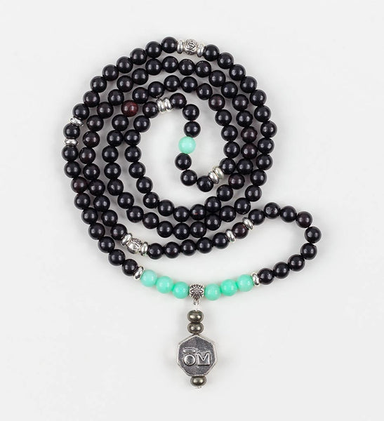 Confidence Stretch Mala in COMPASSION